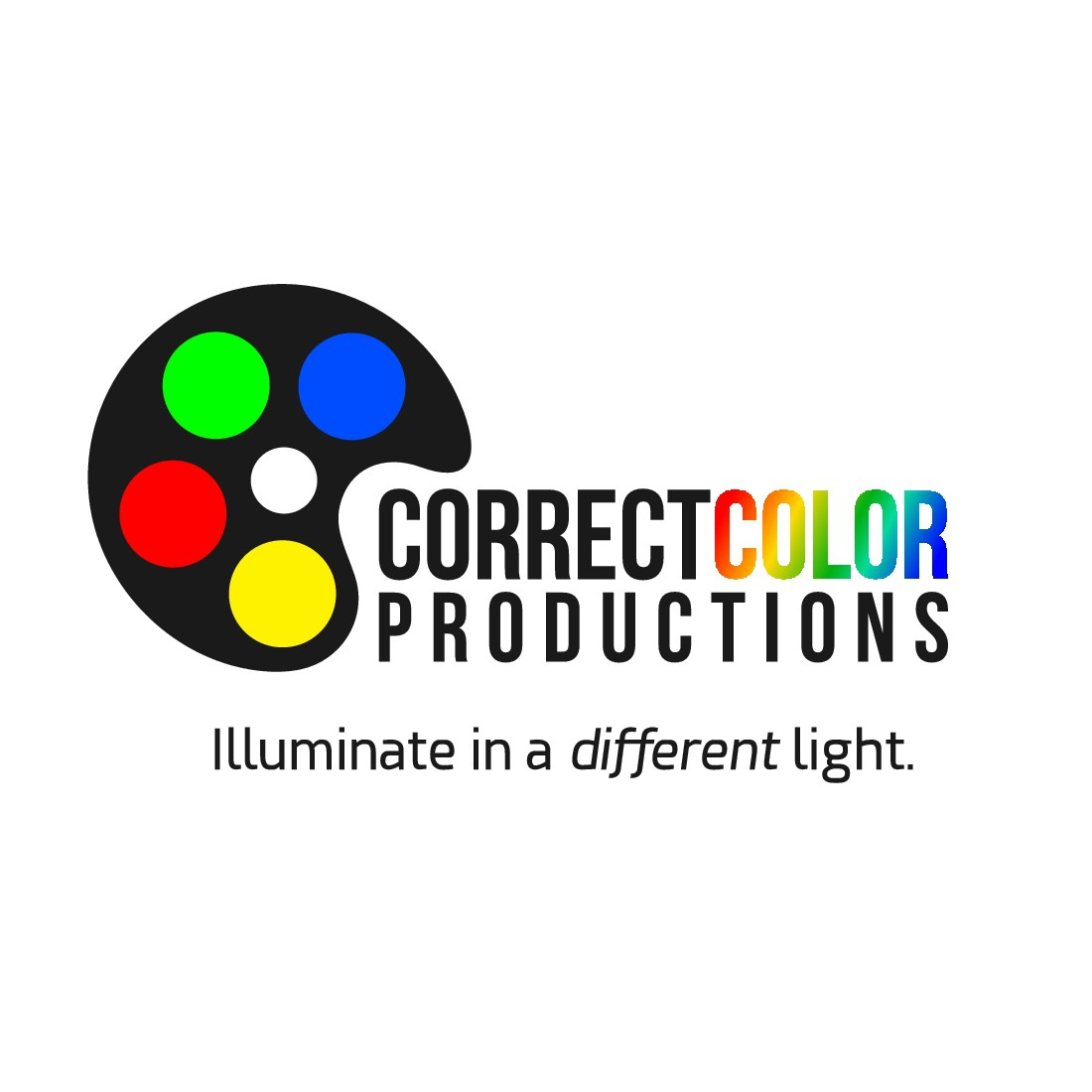 Create a great, creative logo for Correct Color Productions (Video Production Company)
