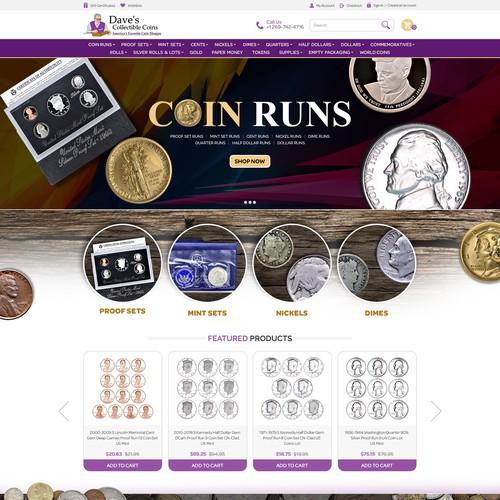 Random Old Website Redesign