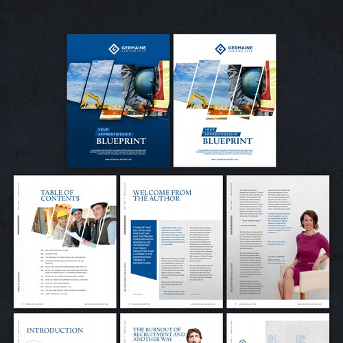 EBook for a Boutique Law Firm