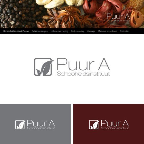 Logo concept for Puur A