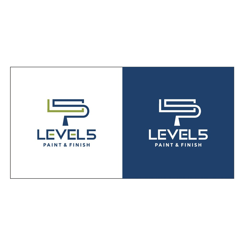 Simple & sophisticated logo for a high end commercial & residential paint company