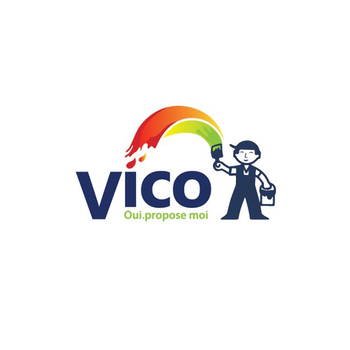 Logo Concept for VICO paint company