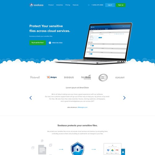 Help us redesign www.sookasa.com