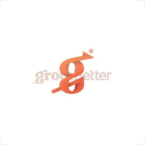 """Logo """"typo"""" for GrowBetter"""