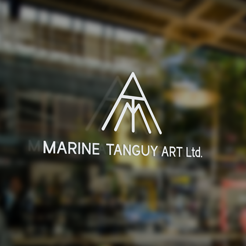 Logo concept for an art talent agency and contemporary art gallery