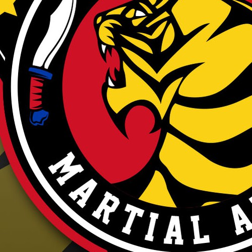 bold logo concept for filipino martial arts