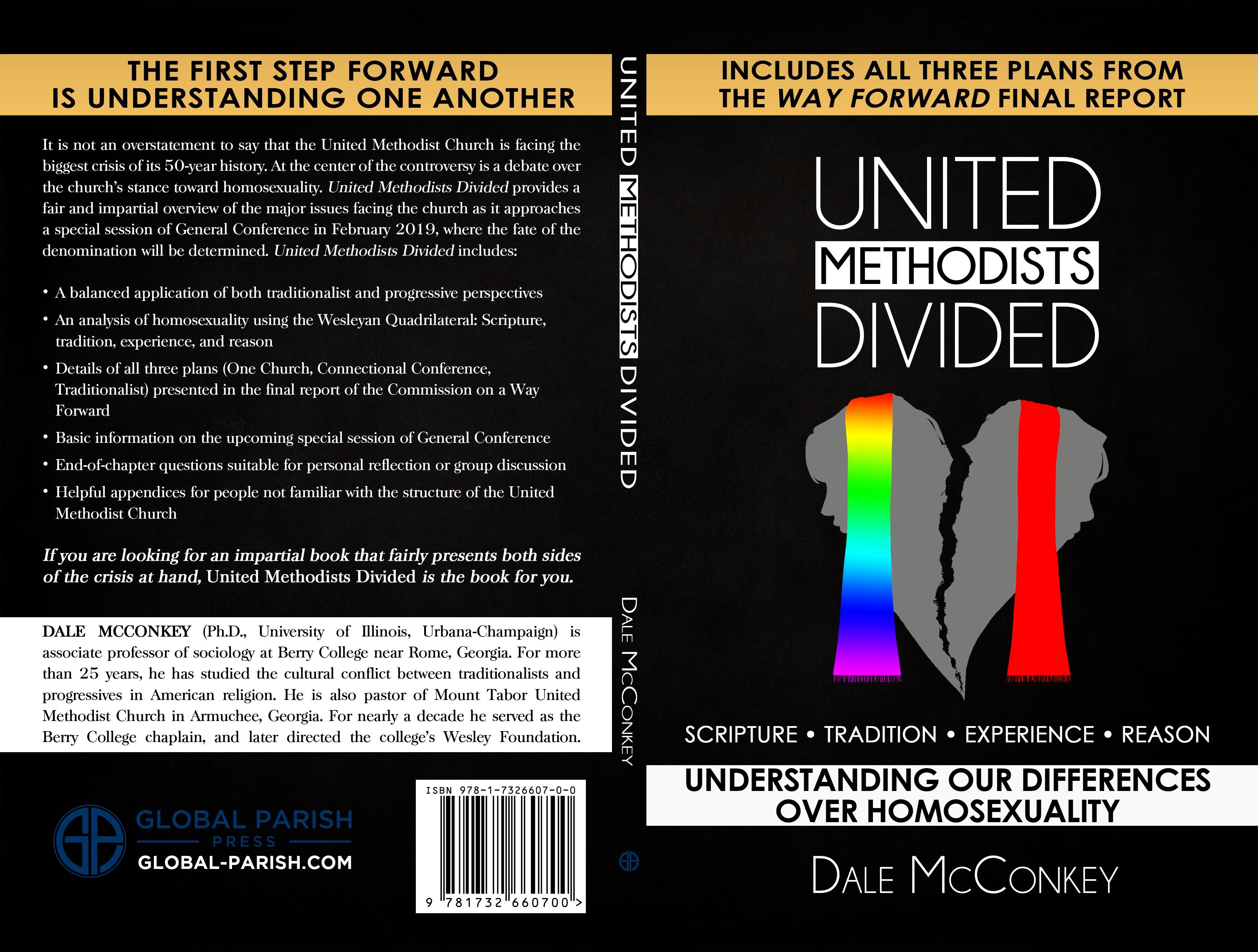 Sleek Book Cover for Homosexuality Debate in Church