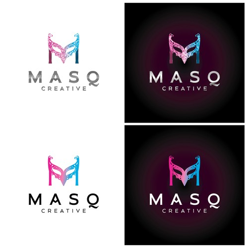 Logo for entertainment company