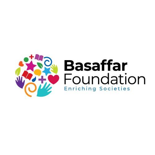 Logo desig for Basaffar Foundation