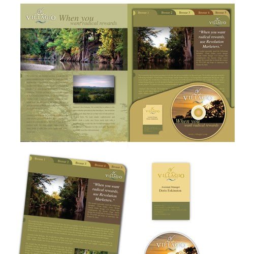 Villagio Folder & Brochure