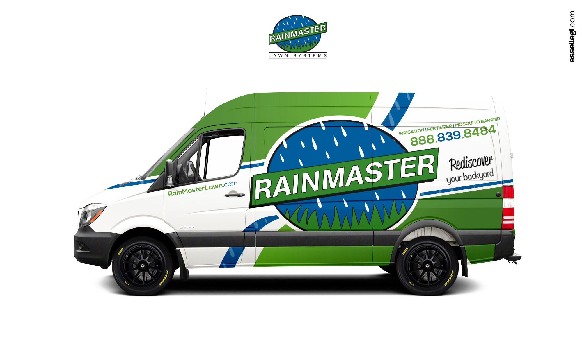 Design a clean vehicle image for our fleet.