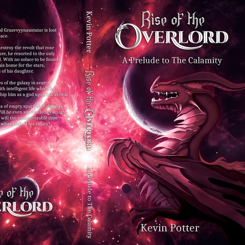 Book Cover Design: Rise Of The Overlord