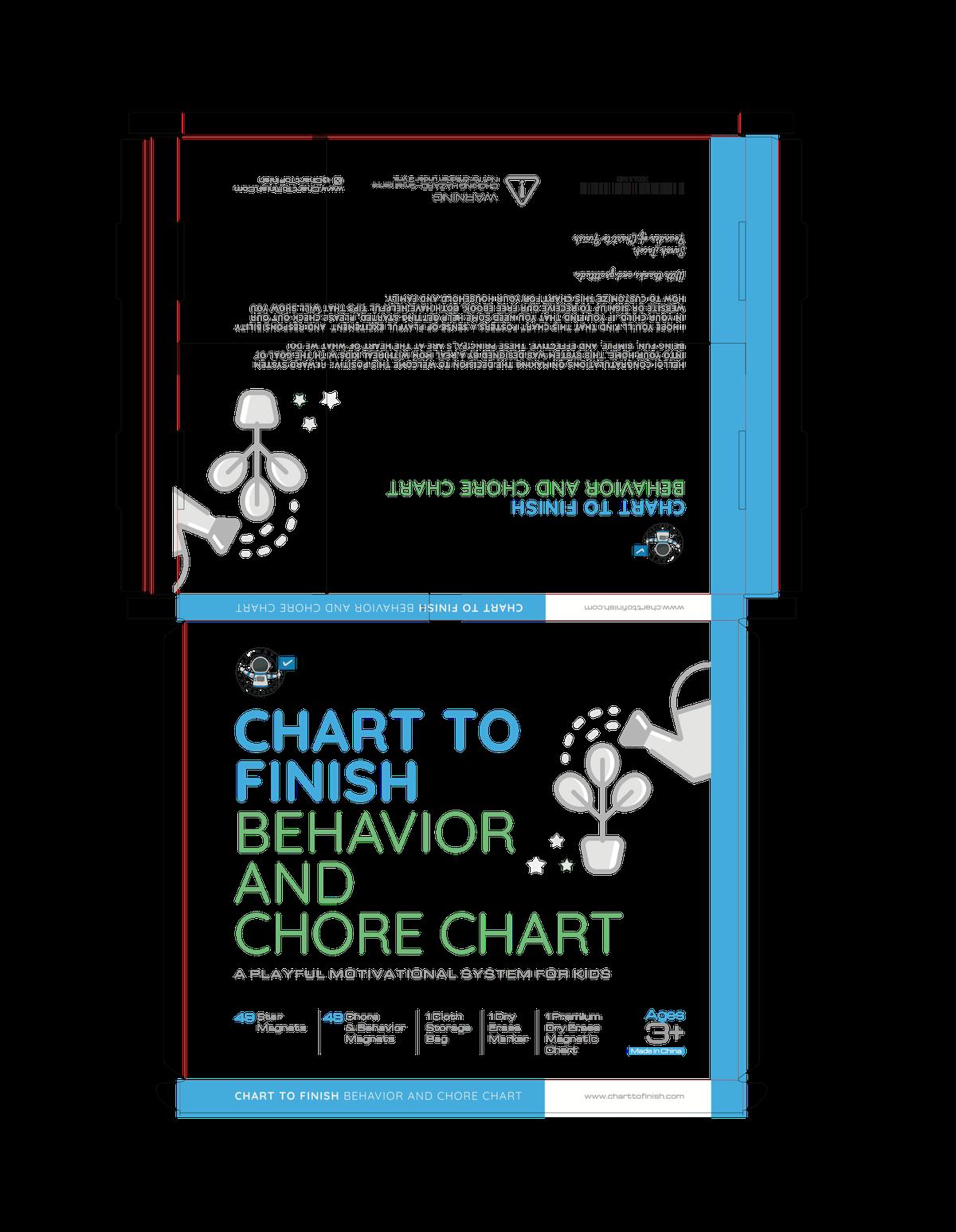 Chart to Finish Chore Chart Box Design