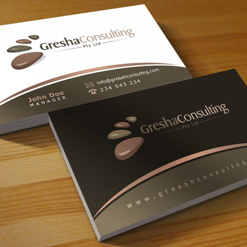 New logo and business card wanted for Gresha Consulting Pty Ltd