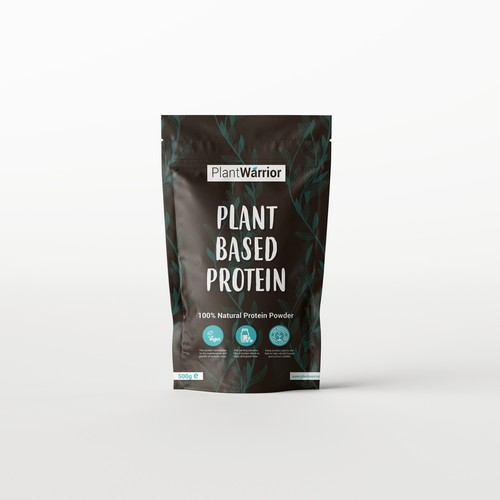 Plant based protein package