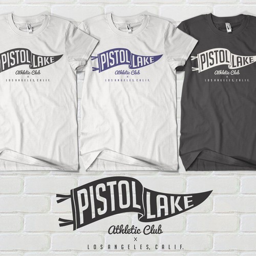 Pistol Lake T-shirt Design
