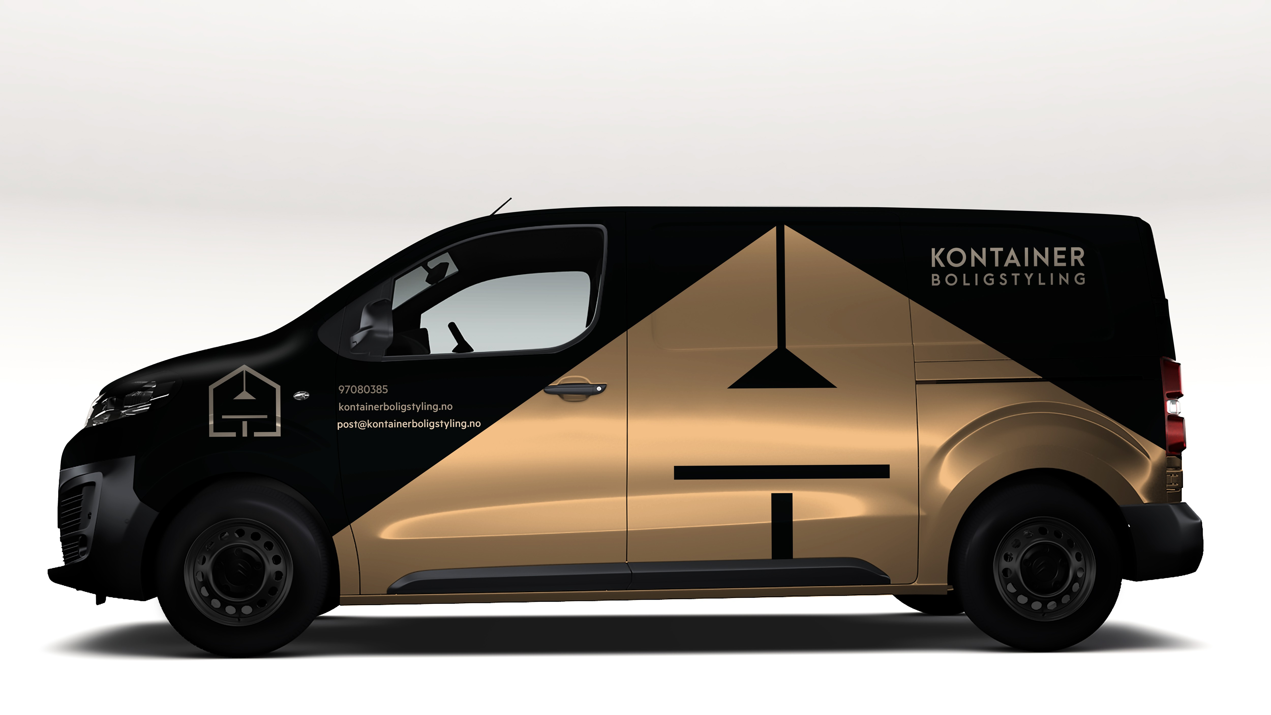 Interior design firm needs cool van wrap for driving around town.