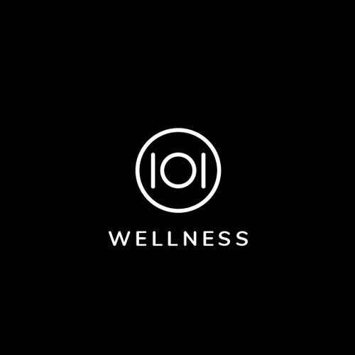 101 Wellness - fitness logo