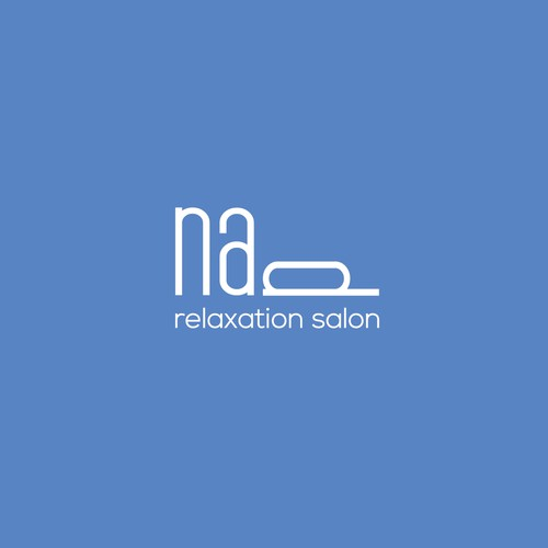 Logo for relaxation salon.