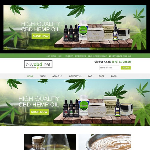 Cannabis Banner design