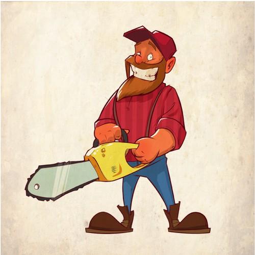 Woodchoper mascot