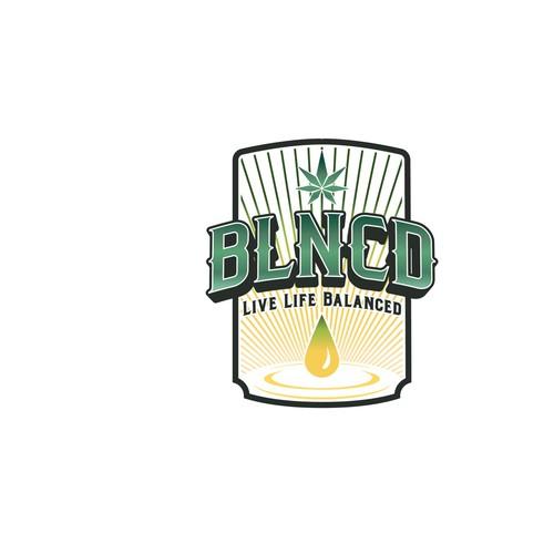 Bold vintage modern logo design