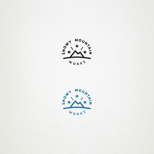 Snowy Mountain Works Logo