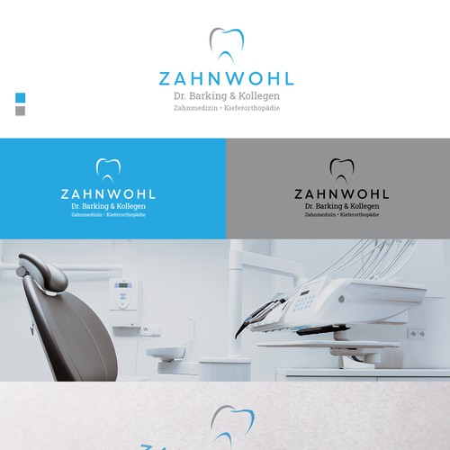 Logo for dental surgery ZAHNWOHL