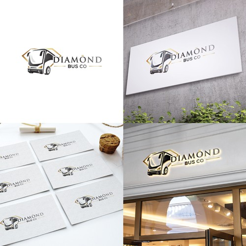 Logo design for High end transportation for weddings, corporate & private events