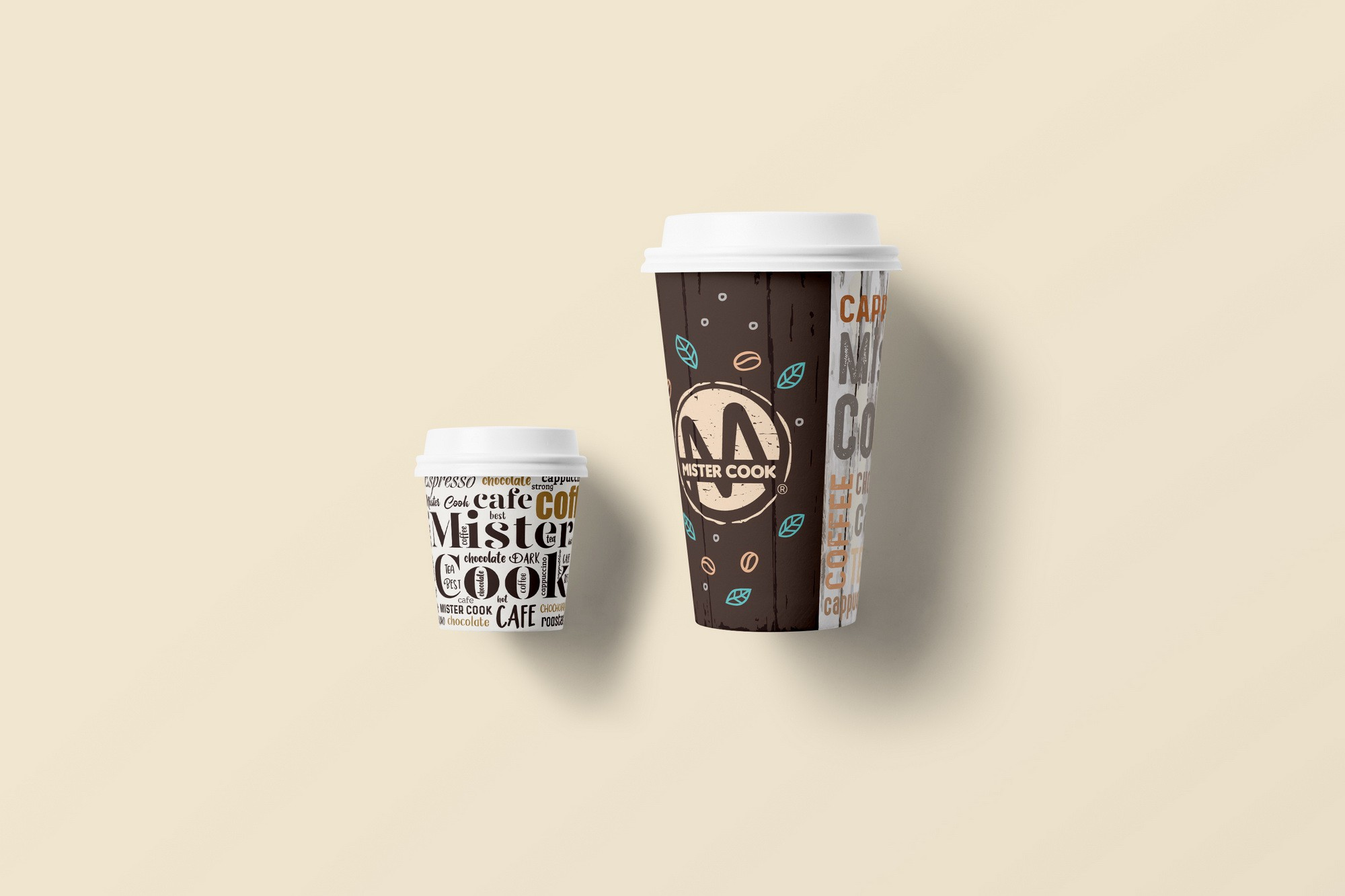 Coffee cups design