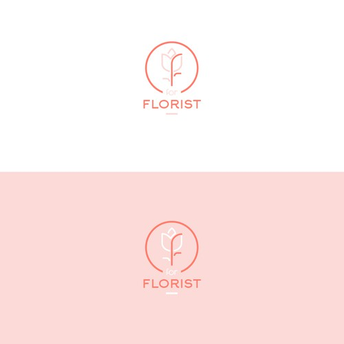 Logo for a luxurious floral business.