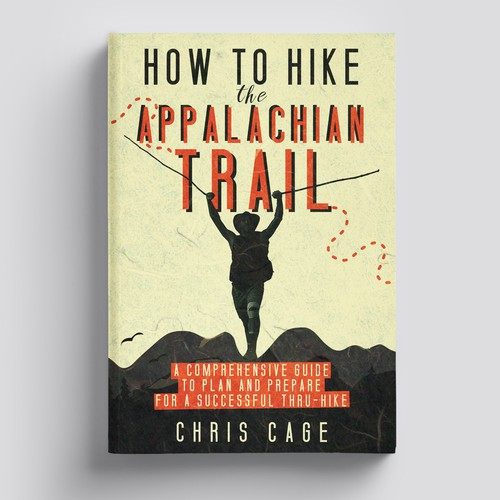 Book cover for hiking book