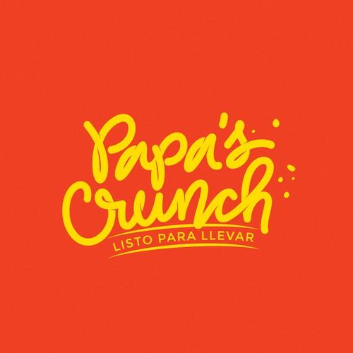 Papa's Crunch Logo