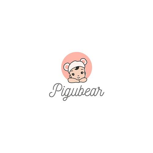 Pigubear Logo