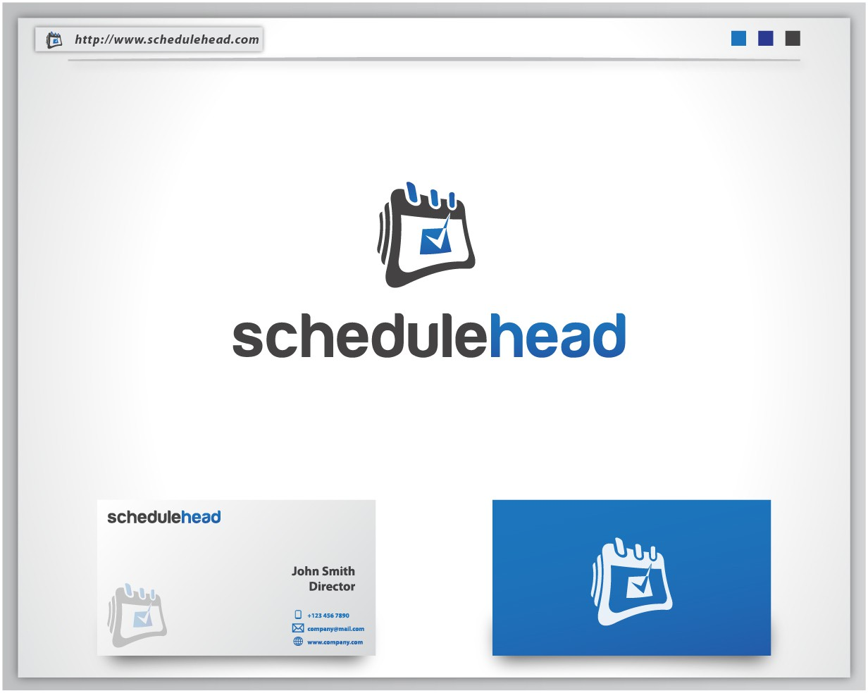 Schedulehead needs a new logo