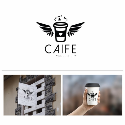 Logo for a coffee shop