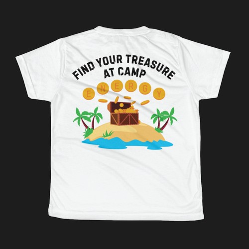 FIND YOUR TREASURE AT CAMP ENERGY