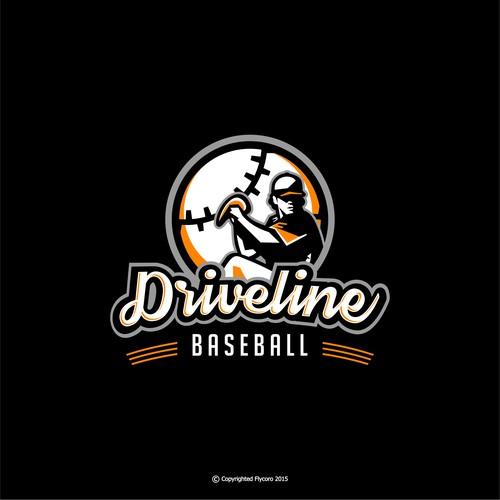Bold logo concept for Driveline Baseball