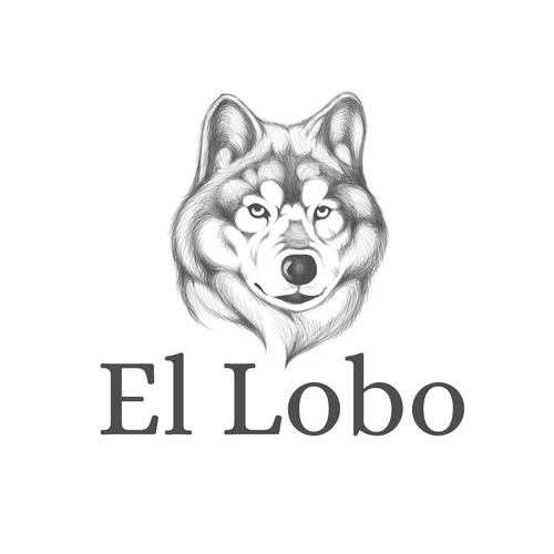 el lobo digital drawing