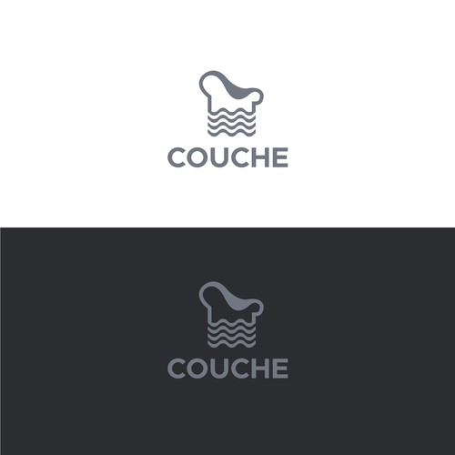Simple clean and professional logo design for COUCHE