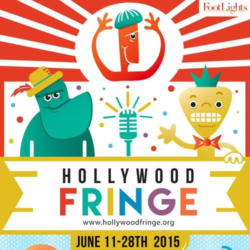 Guide Cover for the 2015 Hollywood Fringe Festival