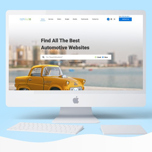 OptiAuto Website