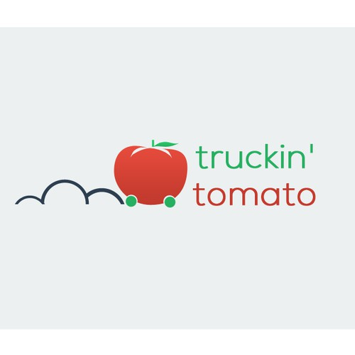 Help Truckin' Tomato with a new logo