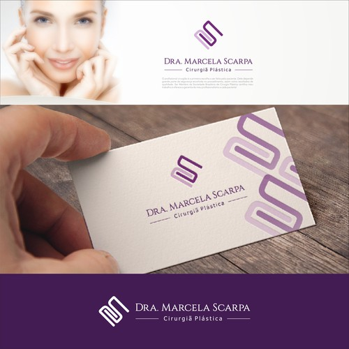 a plastic surgeon's professional logo