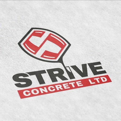 Strive Concrete Logo