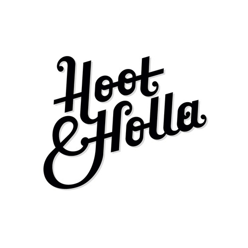 Logotype for Hoot & Holla