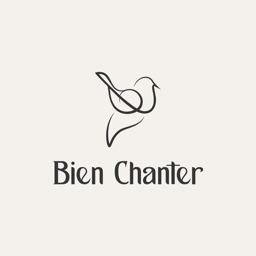 An innovative logo for an online revolutionary singing method