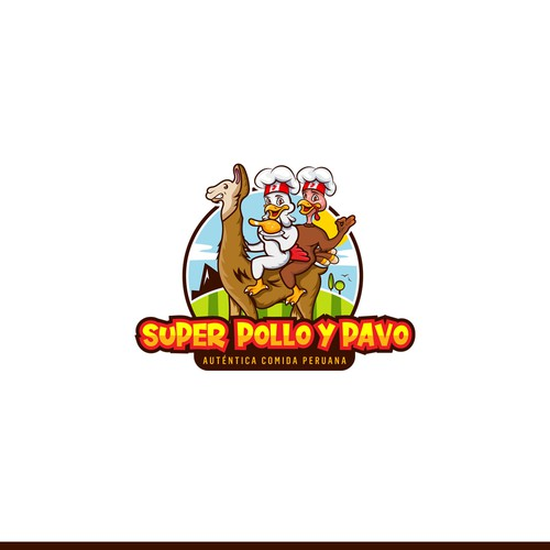 Super Pollo y Pavo - Peruvian Restaurant - Winning Project