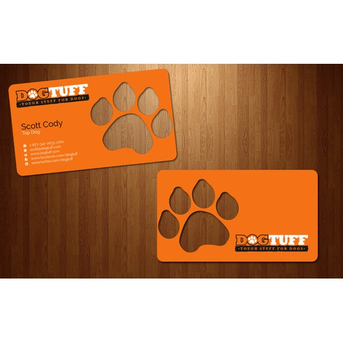 Business card for DogTuff