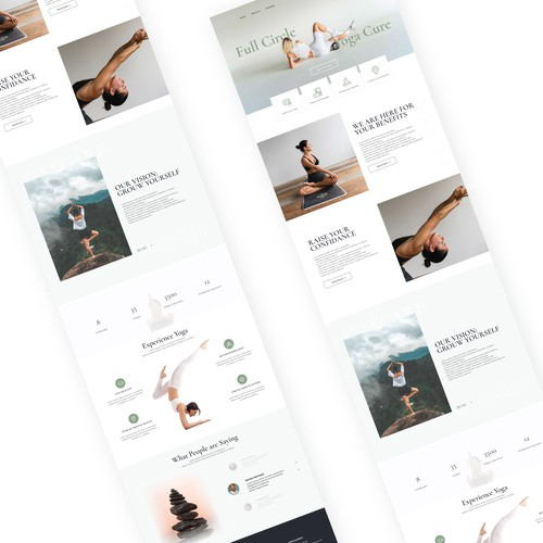 Yoga Landing page project